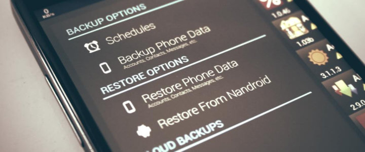 Smartphone Data recovery